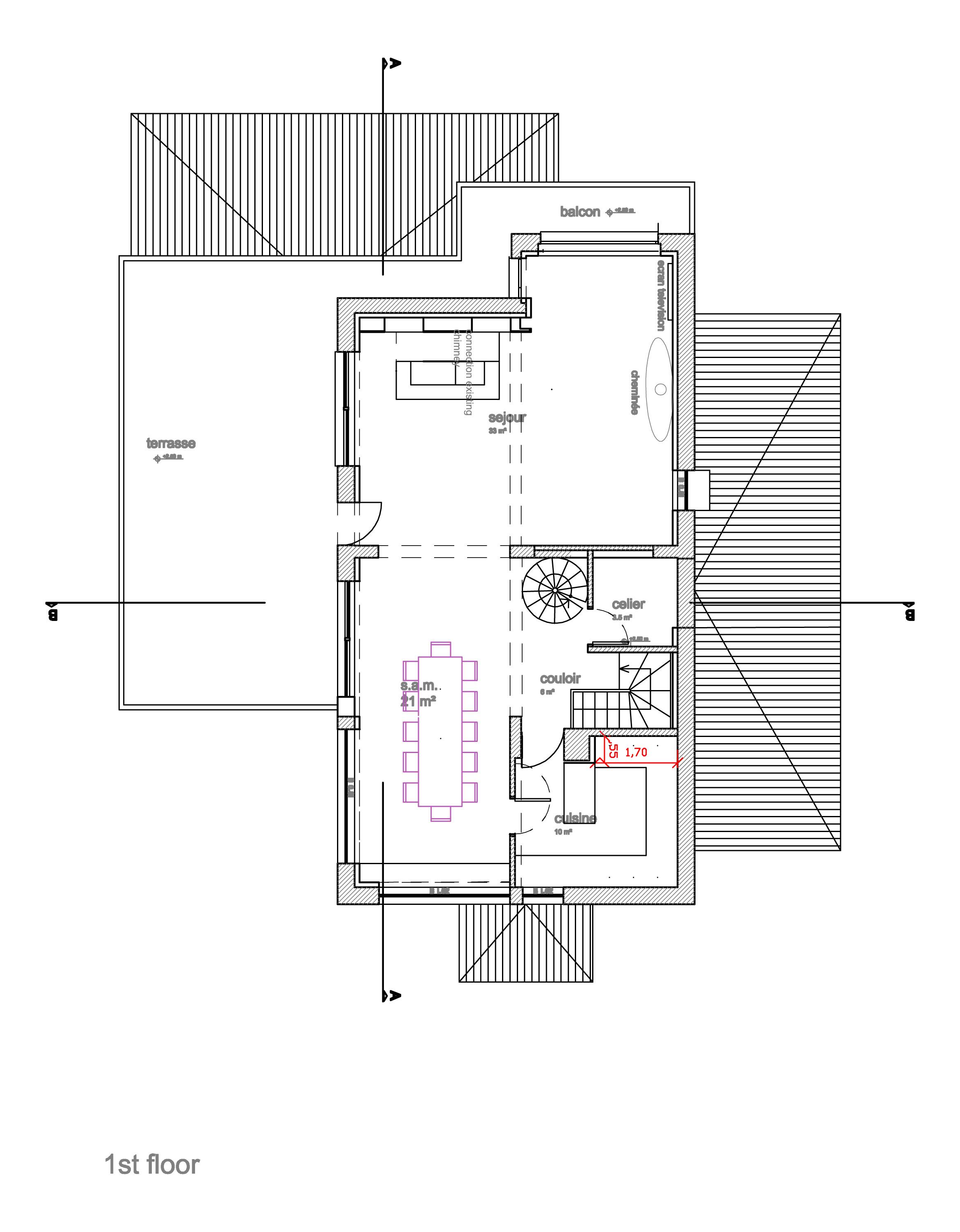 Floor plans chalet arolla for Chalet plans one floor